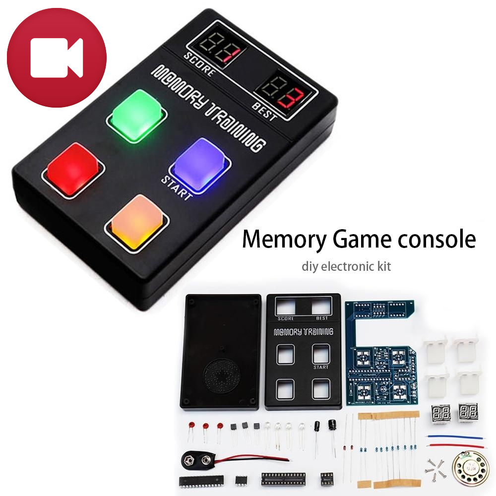 LED Brain Memory Game DIY KIT