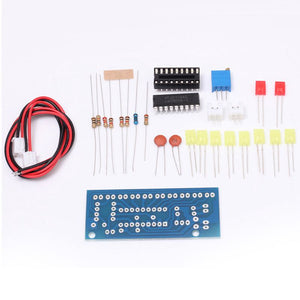 LED Audio Spectrum Analyzer DIY Kit - Circuit-Pop