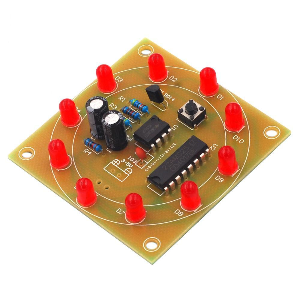 LED Wheel of Fortune DIY Kit - Circuit-Pop
