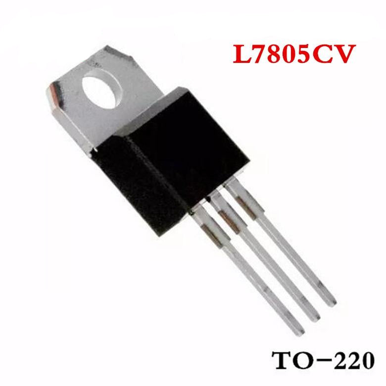 50PCS L7805 5V Linear Voltage Regulator - Circuit-Pop