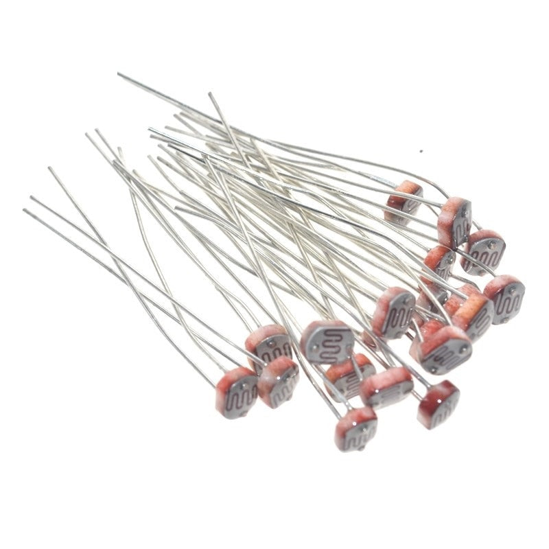 LDR Photoresistor 20PCS - Circuit-Pop