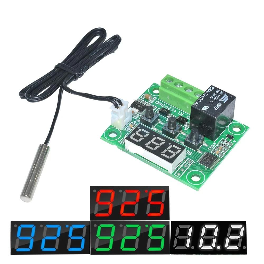 W1209 temp Relay Switch Module - Circuit-Pop