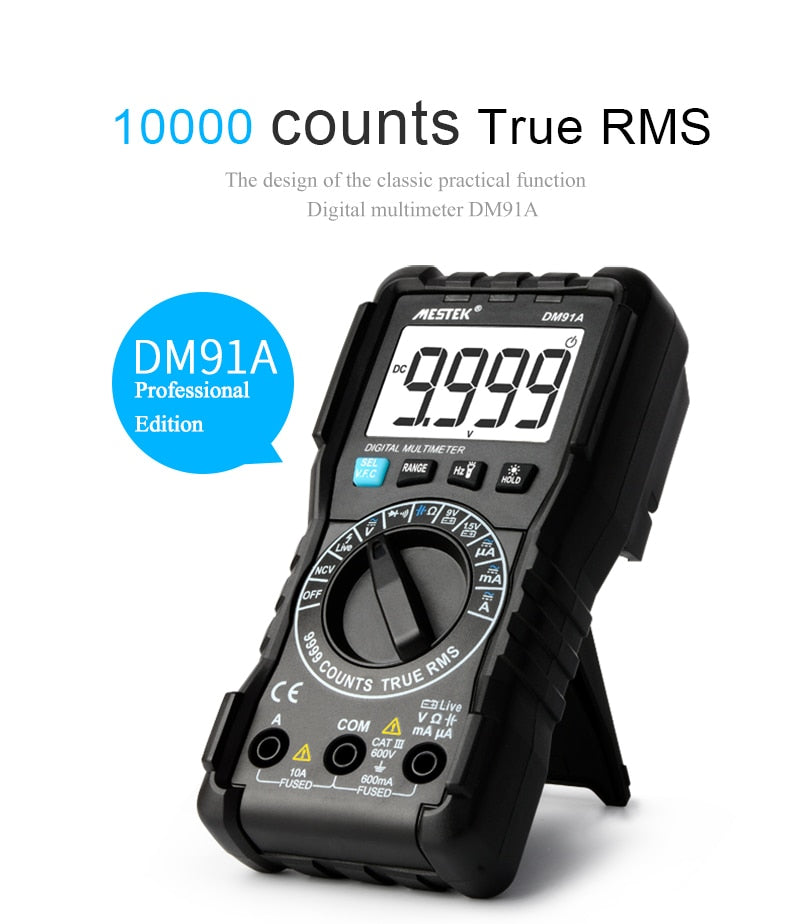 DM91A Mini Digital Multimeter - Circuit-Pop