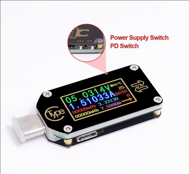 Full Color USB-C Load Tester - Circuit-Pop