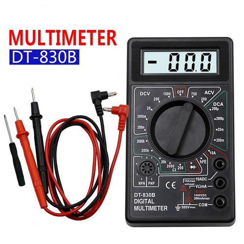 Mini Digital Multimeter - Circuit-Pop