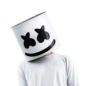 DJ Marshmello LED Luminous Party Mask - Crzy8.com