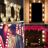 LED Hollywood Wall Lights for Make-Up Mirror - Crzy8.com