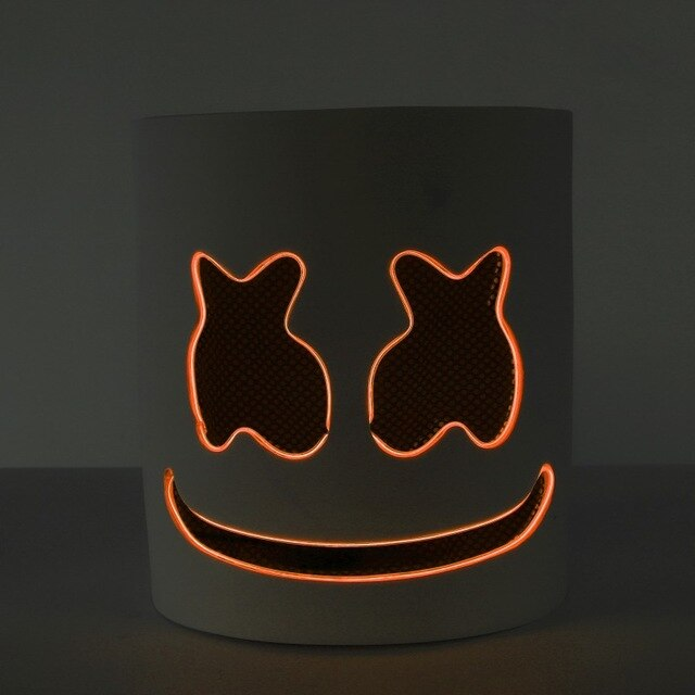 Crzy8 | DJ Marshmello LED Luminous Party Mask