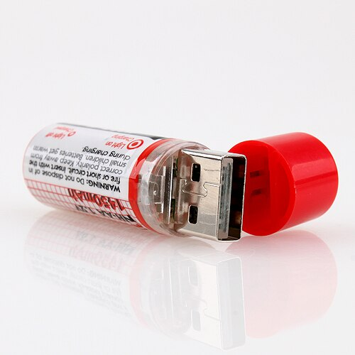 Crzy8 | USB Charging AA 1450 MAH Battery 1.2v