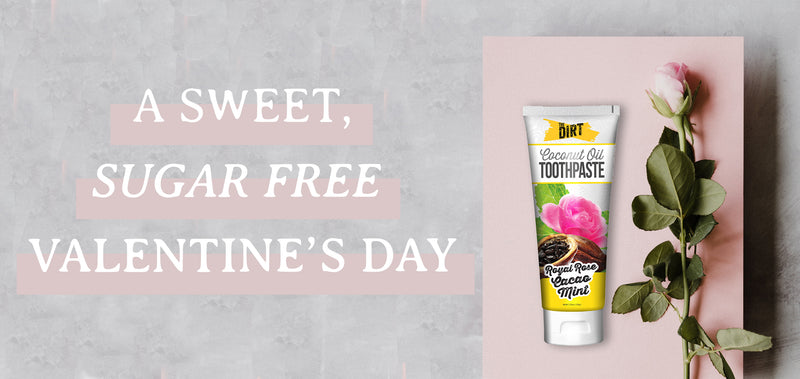 A Sweet, Sugar Free Valentine's Day