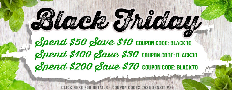 Black Friday Sale! | The Dirt - Super Natural Personal Care