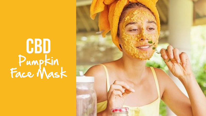 CBD Pumpkin Face Mask