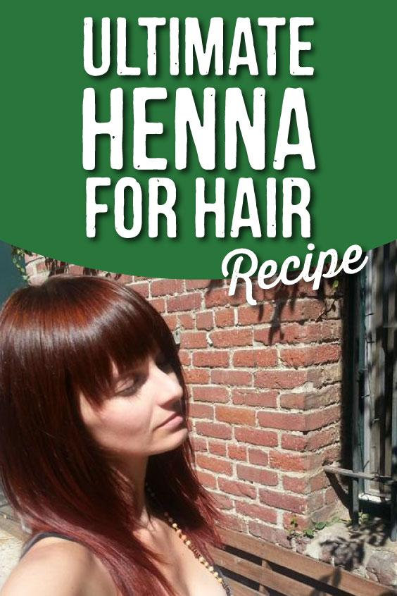 The Ultimate Henna for Hair Recipe, Hair Dye without the Chemicals | The Dirt - Super Natural Personal Care