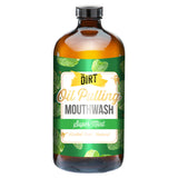 Super mint oil pulling mouthwash