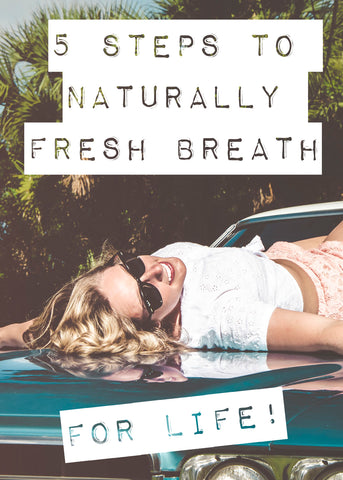 how to get fresh breath naturally
