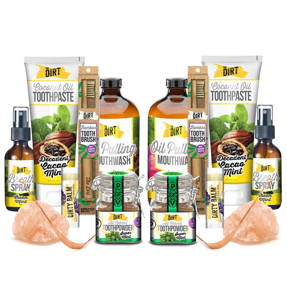 Complete Couples Bundle - Mint - The Dirt - Super Natural Personal Care
