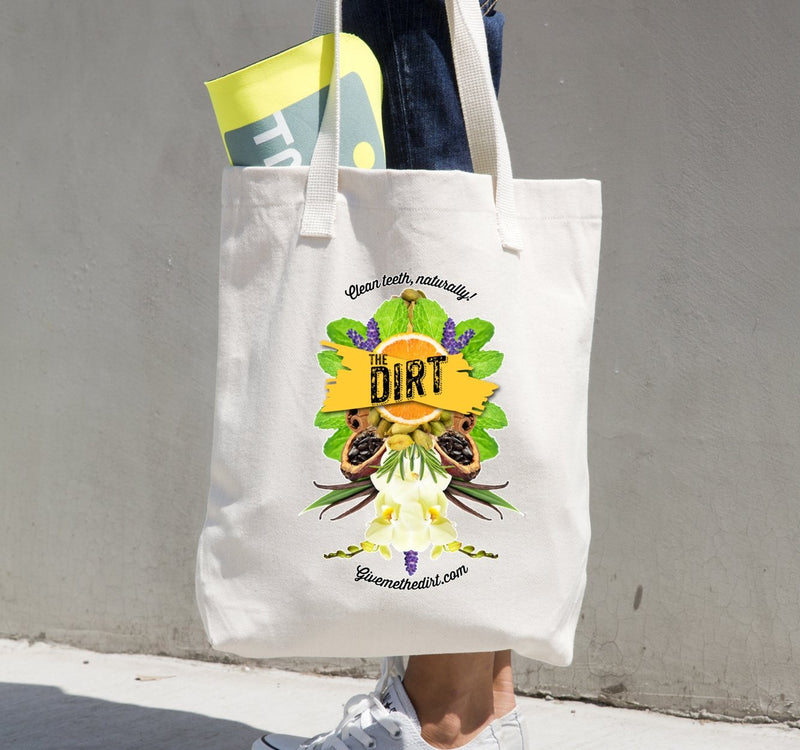 Maya - Cotton Tote - The Dirt - Super Natural Personal Care Swag