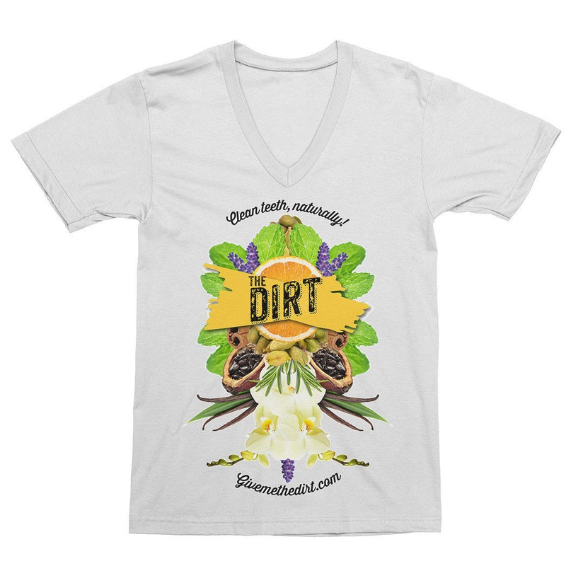 Men's Maya T-shirt - V Neck - The Dirt - Super Natural Personal Care