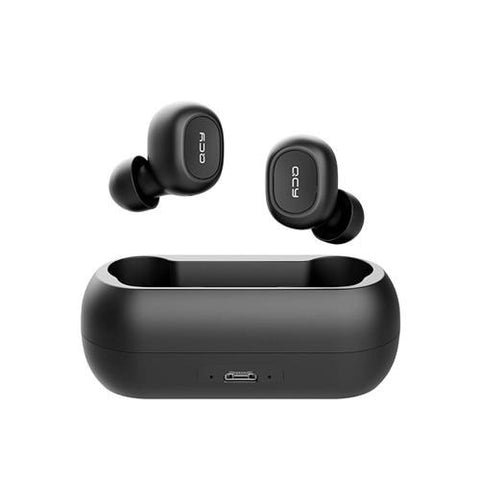 DRAADLOZE BLUETOOTH EARPODS MET CARRY & CHARGING CASE