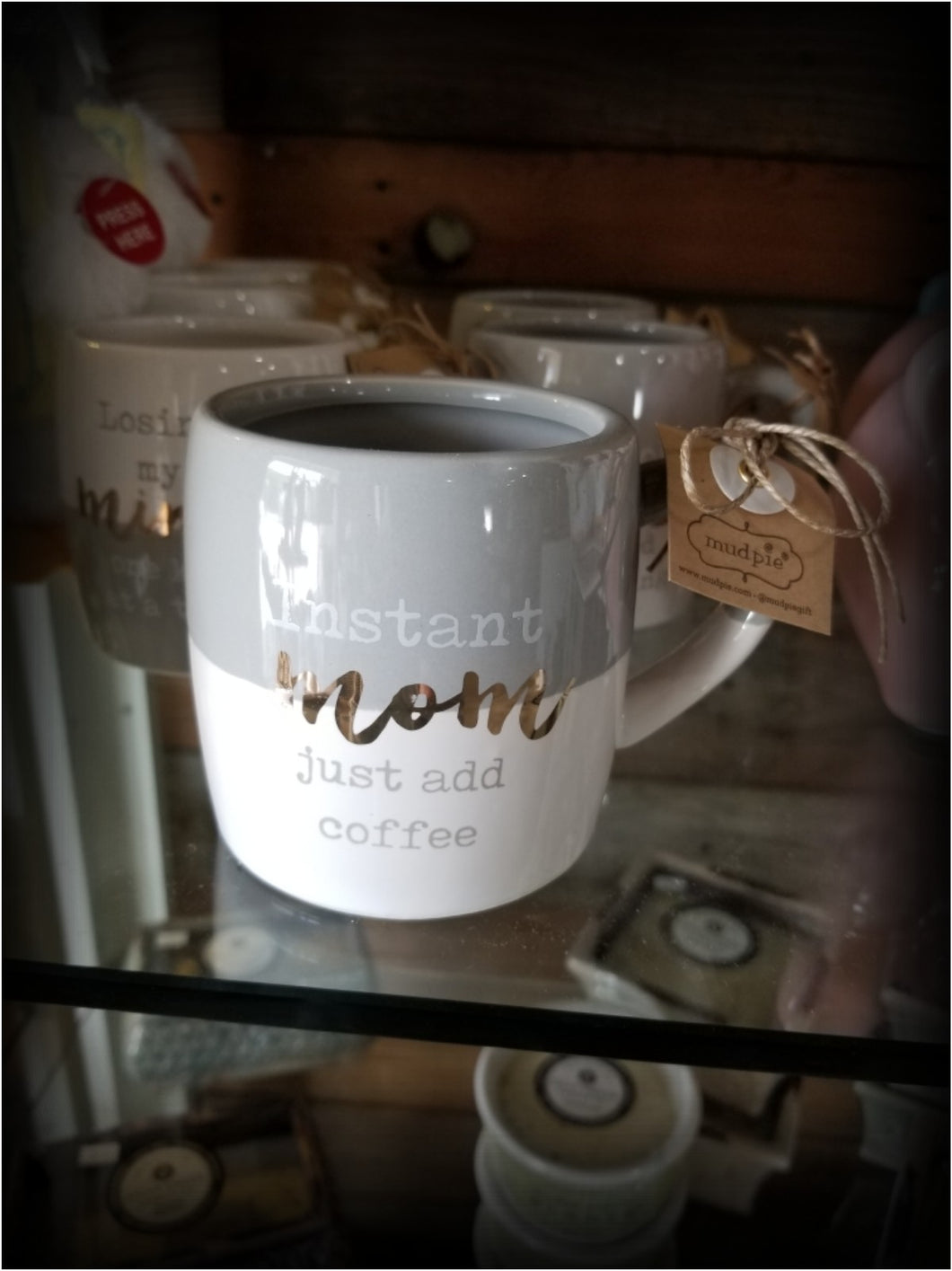 Mud Pie Mom Coffee Mugs