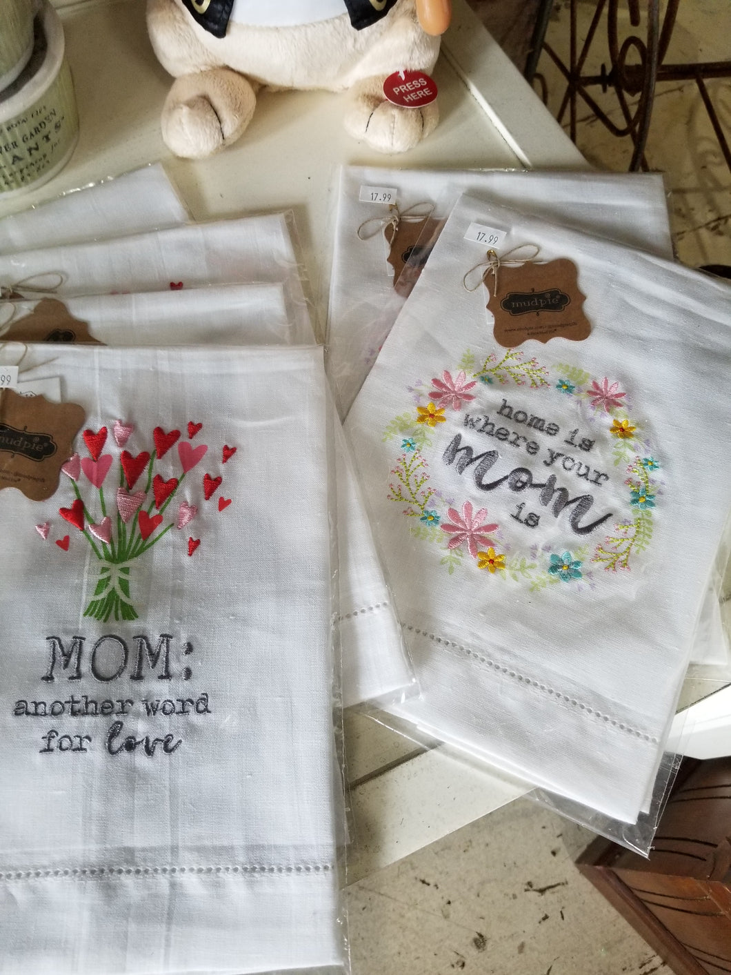 Mud Pie Mom Towels