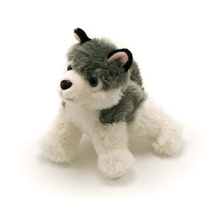 "7"" Husky Plush Animal Mascot"