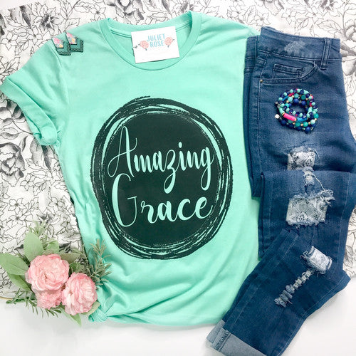 Amazing Grace Christian Shirt