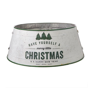 "Raz Imports 23"" MERRY LITTLE CHRISTMAS TREE COLLAR"