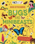 Factivity Bugs and Minibeasts 300 Stickers Activity Book