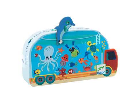Djeco The Aquarium Puzzle 16 Pcs