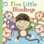 Finger Puppet Book Five Little Monkeys