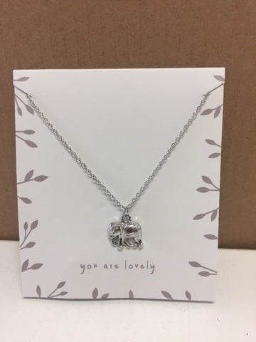 Sentiment Necklace You Are Lovely