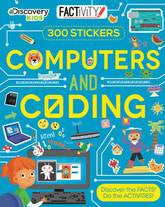 Factivity Computers and Coding 300 Stickers Activity Book