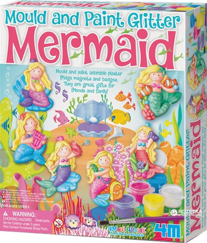 4M Mould & Paint Glitter Mermaid