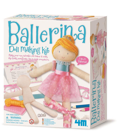4M Ballerina Doll Making Kit