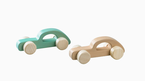 Wooden Car Calm and Breezy