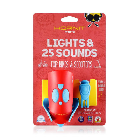 Lights and Sounds Red/Blue