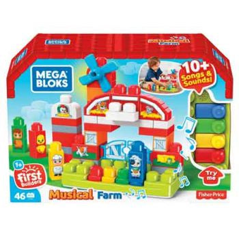 Mega Blocks Musical Farm