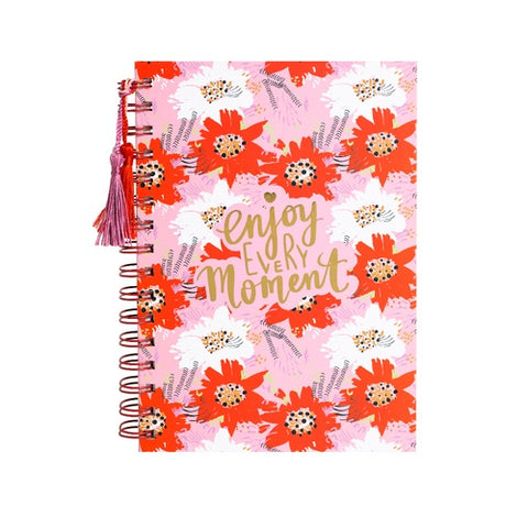 A5 Spiral Notebook - Pretty Posy