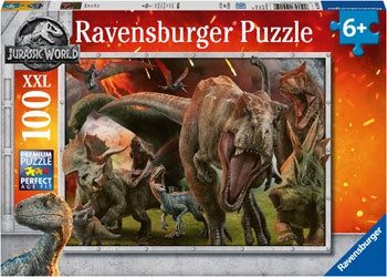Ravensburger Jurassic World Puzzle 100 Pcs