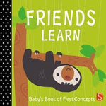 Baby's First Book - Friends Learn
