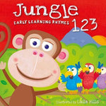 Jungle 123 - Early Learning Rhymes Board Book