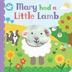 Finger Puppet Book Mary Had A Little Lamb