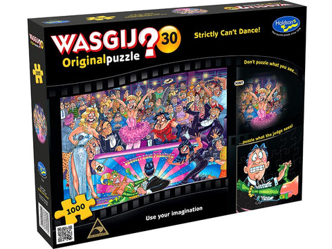 Wasgij Original Puzzle 1000 Pcs - Strictly Can't Dance