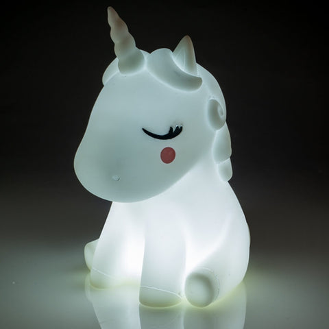 Lil' Dreamers Soft Touch Lamp Unicorn