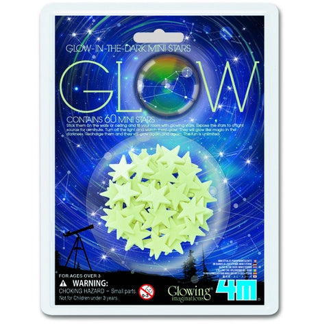 4M Glow in the Dark Mini Stars