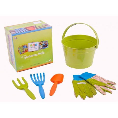 Twigz My First Gardening Tool Green