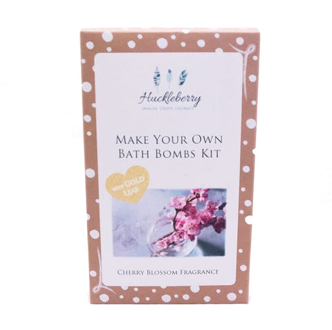 Make Your Own Bath Bomb Kit Cherry Blossom