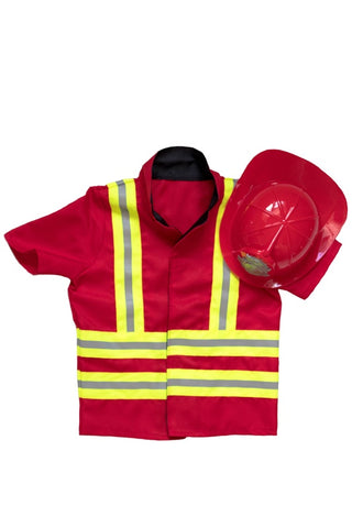 Kiddie Connect Fire Fighter Costume