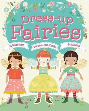 Dress-Up Fairies Colouring Book